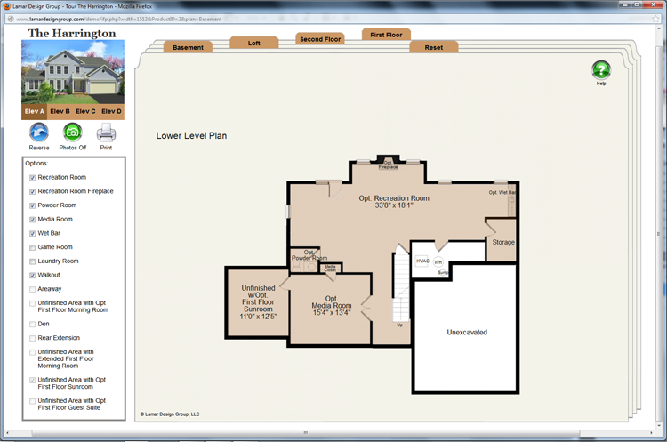 Interactive floor plans for the ipad for Interactive home plans
