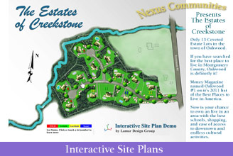 Interactive Site Plan
